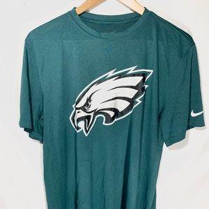 "Nike Tech Shirt ""Philadelphia Eagles"" Men Size L"